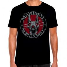 T-shirt - Burn in Hell